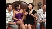 Swingers swapping wives for the very first time