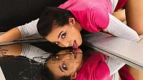 Hot Babe Amanda Pisses On Mirror