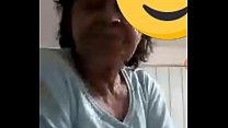 Mi abuelita no se aguanto la cuarentena y me hace una videollamada