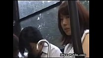 What is the code for this video and/or who is she? Probably 2015 or earlier. Gangbang JAV in bus (1/2)