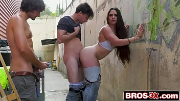 Stunning Spanish Beauty Fucked By Two Lucky Construction Workers (Marta La Croft)