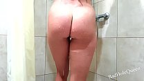 Cute girl loves to fuck in the shower