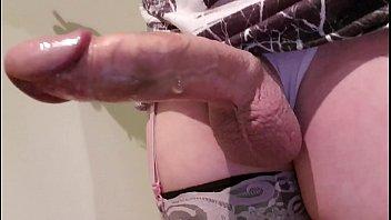 Huge tranny cock