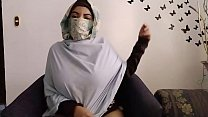 Real Arab In Hijab Mom Praying And Then Masturbating Her Muslim Pussy While Husband Away To Squirting Orgasm
