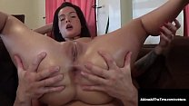 Hot Inked Maria Marley Bends Over For A Krap Hole Packing!