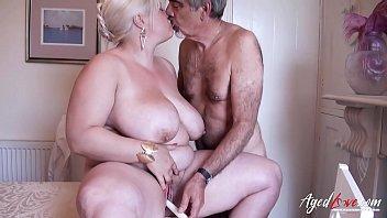 AgedLovE Mature With Big Tits Got Rough Fuck