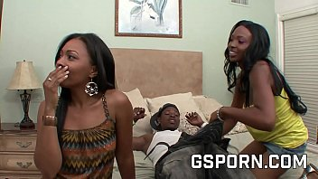 Black threesome with mom and daughter fucking the boyfriend 30 min