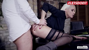 LETSDOEIT - #Sophie Logan - Sexy German MILF Gets The Cock Of Her Boss For A Promotion