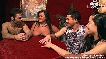 Deutsche amateur swinger party mit echten paaren und hausfrauen