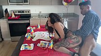 nobody came to my bday party so my stepmom gave me an extra surprise... pt1