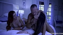 Teaching Foster Teen Hot Daughter What Love Is Like- Lilian Stone, Natalia Nix