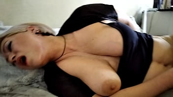 Sweet Milf Hot Orgasm: Fuck, Lovens & Nipple Torment... Not a Woman, but a Goddess! 6 min
