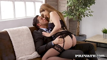 Private.com - Lingerie Clad Ginebra Bellucci Butt Banged & Creampied!