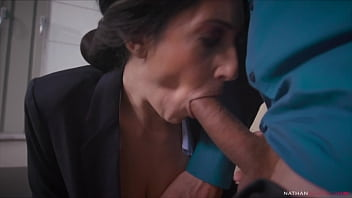 Hung Ian Scott Destroys the Asshole of his big boobs big booty manager Eloa Lombard