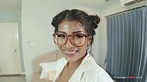 Asian MILF Teacher Creampie 10 min