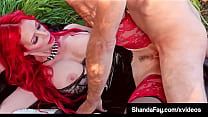 Pretty Pussy Fucking With Big Titty Creaming Cougar Shanda Fay Outside