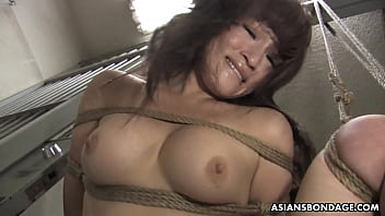 Yukina Mori got tied up tight and fucked by several men