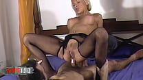 Anal breakout in Delfynn Delage's bed - Remastered