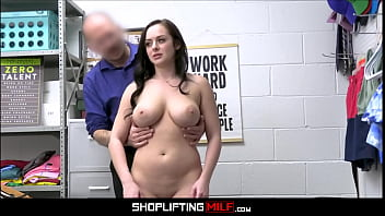 Big Tits MILF Macey Jade Caught Shoplifting Fucked By Officer For Freedom