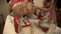 ASSALICIOUS! Cooking in the ASS! Starring Brittany Bardot and Jessy Jey BBC010