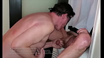 Watch this hot alpha dominant top take control of my throat and deeply breed it