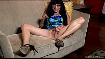 Kinky cougar talks dirty about her first time fucking