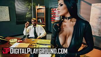Sexy Brunette (Romi Rain) Has Her Pussy Pounded Hard By Her Boss (Stallion) - DigitalPlayground