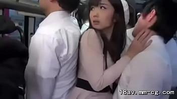 Japanese bus fuck