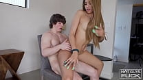 Ivy With The Perfect Body Gives Buff White Boy The Ride Of His Life 29 min