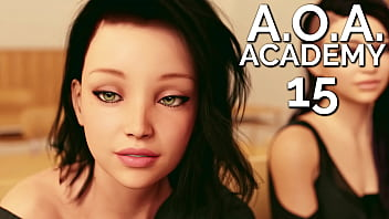 A.O.A. Academy #15 - First lesson with cute Rebecca
