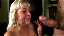 Sexy old spunker loves to suck cock and facial cumshots