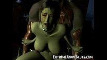 3D Shocking SciFi Sex!