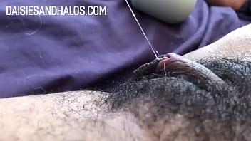 Daisy's Hairy, Lippy Pussy Cums! (Her POV)