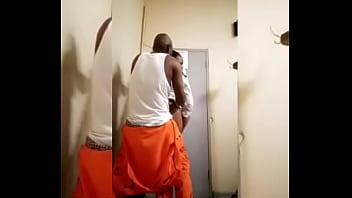 Female Prison warden fuck my an inmate