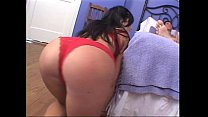 Slut in red undies fucked hardcore