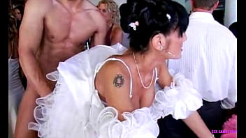 Czech wedding group sex 56 min