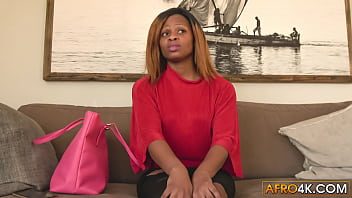 Real Interracial Casting Black Babe Doggystyled
