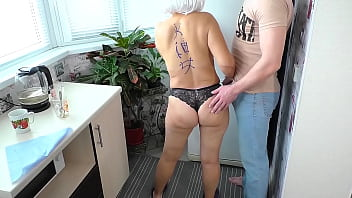 Mom had anal sex with her son and farted with sperm 19 min