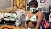 Ebony Nurse Needs Doctor's Assistance