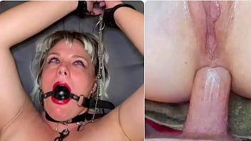ANAL SURPRISE! Tied Up and Fucked in the Ass