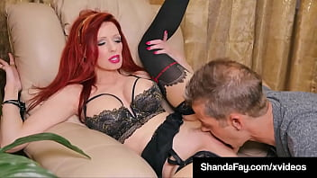 Big Boobed Housewife Shanda Fay Lets Her Hubby Bang Her Sweet Snatch!