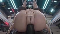 3D sex cyberpunk