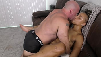 Nude Amazon Kendra Allure' Thick Booty Beauty' grinding (interracial)