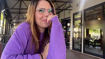 she uses a bluetooth vibrator in public | Western guy & Mia Natalia Vlogs ep.4