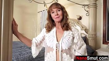 Grandmother calls step grandson to her bedroom 8 min
