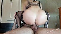 My new Girlfriend's Adorable Ass Rides my Cock Skillfully! Anal Creampie