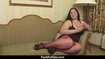 FuckFatties - Fat Hot Babe Tries Porn For The First Time