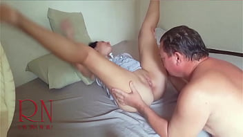 Teaser. Graceful flexible lady undresses Cunnilingus and pussy massage to orgasm.
