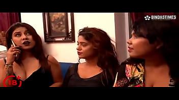 Dirty talking Indian girls fucking a guy Hindi web series