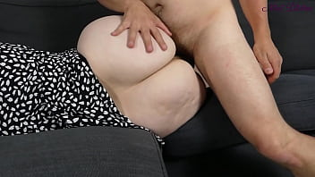 My stepmom this milf lets me fuck her huge ass because i'm virgin!